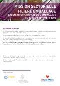 Mission sectorielle filière eMballage - IZF - Page 2