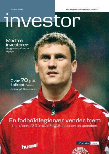En fodboldlegionær vender hjem - Danske Invest