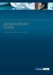 Årsrapport 2009 - Danske Invest