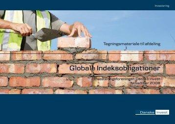 Globale Indeksobligationer Globale ... - Danske Invest