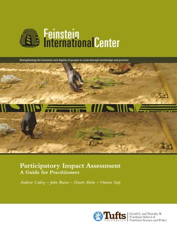 Guide to Participatory Impact Assessment