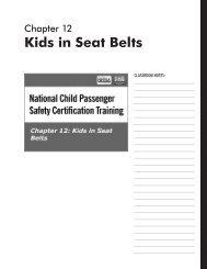 Kids in Seat Belts - National Child Passenger Safety Board