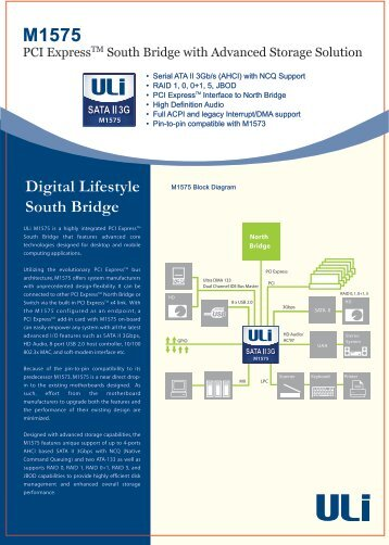 Digital Lifestyle South Bridge