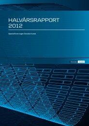 Halvårsrapport 2012 - Danske Invest