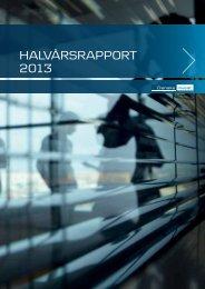 HALVÅRSRAPPORT 2013 - Danske Invest