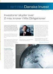 Læs mere... - Danske Invest