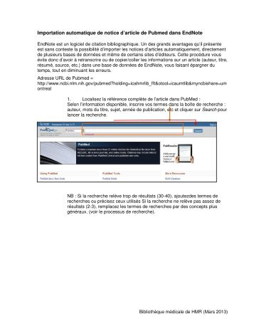 endnote ulaval