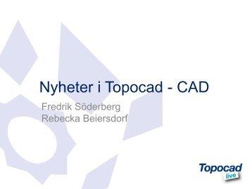 Nyheter i Topocad - CAD - Adtollo