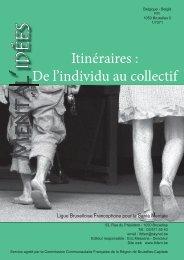 Mental'idées n°18 - Ligue Bruxelloise Francophone pour la Santé ...