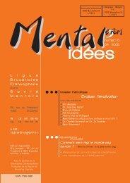 Mental idées. N° 6. Avril 2005 - Ligue Bruxelloise Francophone pour ...