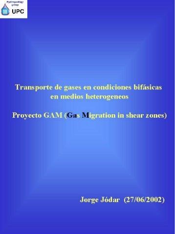 Transporte de gases en condiciones bifásicas en medios ... - UPC