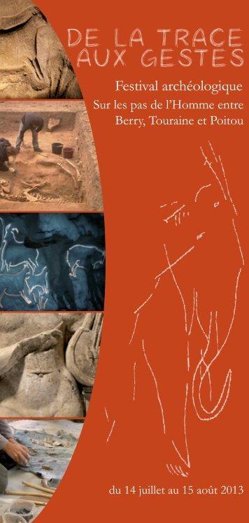 de la trace aux gestes - Festival Archéologique