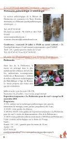 de la trace aux gestes - Festival Archéologique - Page 6