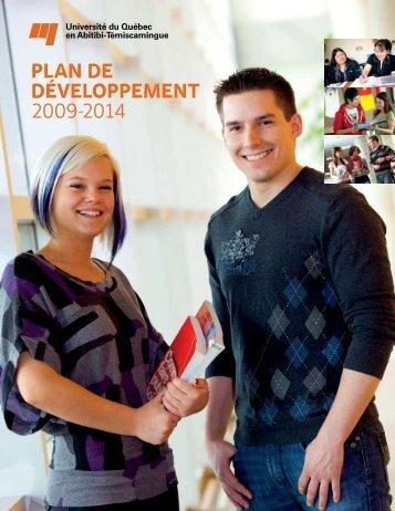 Plan de développement 2009-2014 - UQAT.ca