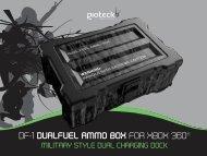 DF-1 DUALFUEL AMMO BOX FOR XBOX 360® - Gioteck
