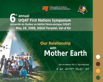 First Nations Symposium - UQAT.ca