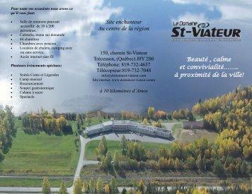 Domaine St-Viateur - Bonjour Québec.com