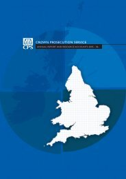 CPS Annual Report 2005-2006 - PDF - Crown Prosecution Service
