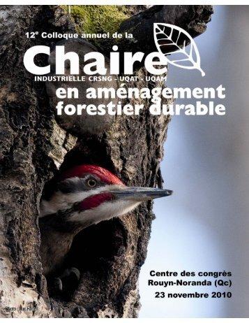 télécharger - Chaire AFD