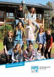 Jahresbericht 20ιι - HPS Lyss