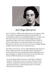 Auf Olga Benario!