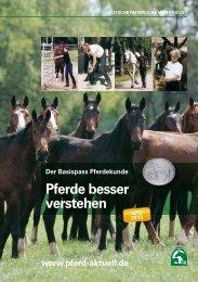 Der Basispass Pferdekunde - Pferde besser ... - Reiterhof Konle