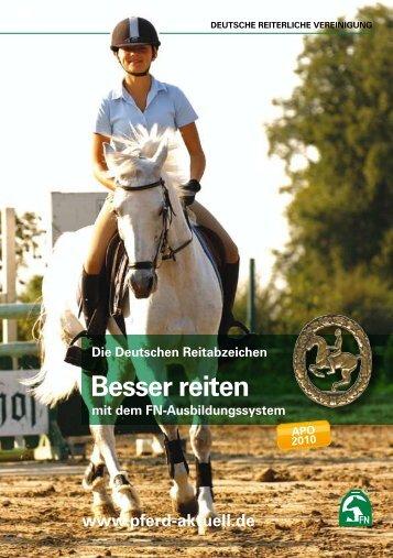 Die Deutschen Reitabzeichen - Besser reiten - Reiterhof Konle