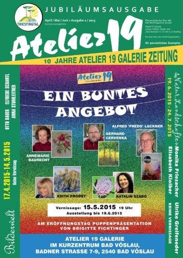 Atelier19 Zeitung