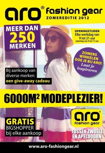 Download hier het ARO Zomer Magazine - ARO Fashion Gear
