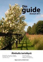 Din guide i Älmhultsbygden 2011.pdf - Älmhults kommun