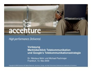 accenture - the Chair of Mobile Business & Multilateral Security