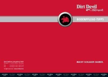 DIRT DEVIL - Dampfente