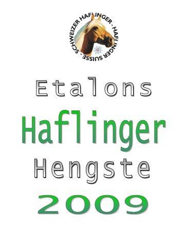 Online-Hengstkatalog (pdf, 1.5MB) - Schweizer Haflingerverband