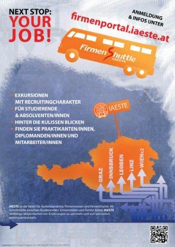 IAESTE Austria - IAESTE Firmenportal