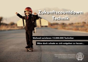 Zukunftscountdown Technik - IAESTE Austria
