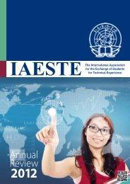Annual Review 2012 - IAESTE