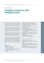 Catalogue of Measures 2011 Abridged Version - smart mobility