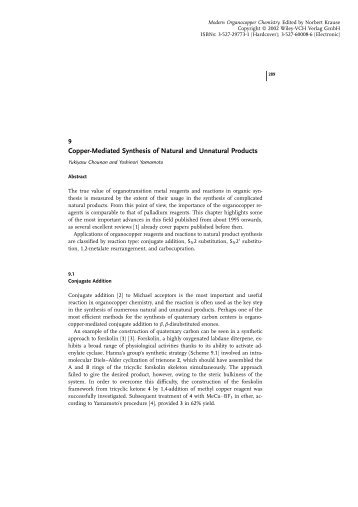 Copper-Mediated Synthesis of Natural and ... - Nouvelle page 1