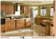 The Hampton Kitchen - Top Class Carpentry