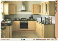 Lyndhurst kitchen brochure - Top Class Carpentry