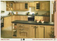 The Tewkesbury Oak Kitchen - Top Class Carpentry