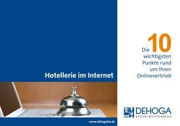 Hotellerie im Internet - DEHOGA Beratung