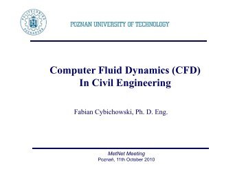 4 FC - CFD in civil engineering [Compatibility Mode]