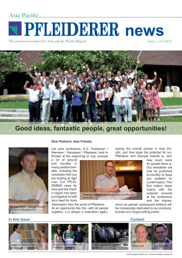 Asia Pacific Newsletter Issue 1.pdf - Bench Top City