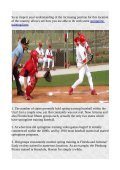 Fact Relating to Baseball Spring Training - Page 2