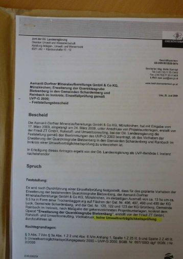 Amt der 06. Landesregierung Direktion Umwelt und Wasserwirtsc ...