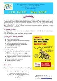 CLIC Infos mai 2013 - Mairie de Saint-Lyphard
