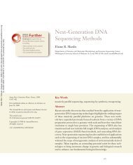 Next-Generation DNA Sequencing Methods