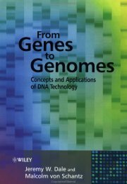 From Genes to Genomes: Concepts and Applications of DNA ...