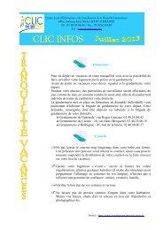 CLIC Infos juillet 2013 - Mairie de Saint-Lyphard